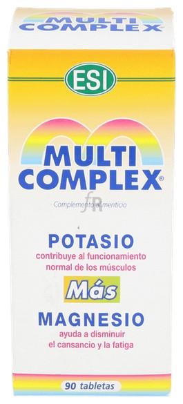 Multi Potasio-Magnesio 90Tabl. - Farmacia Ribera