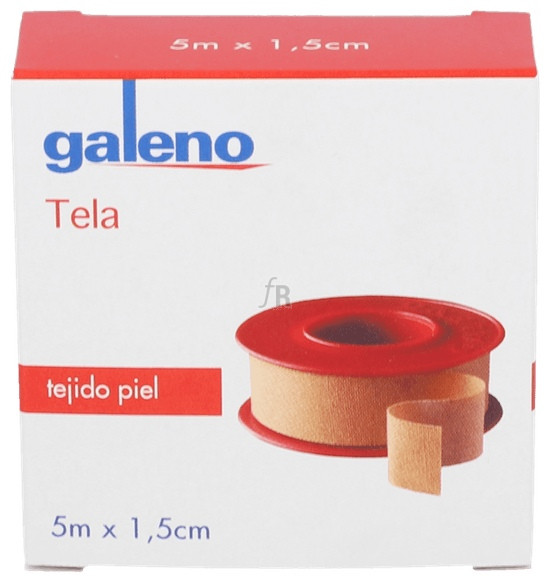 Esparadrapo Galeno Piel 5Mx1,5Cm - Varios
