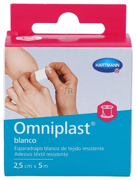 Esparadrapo Omniplast Blanco 5X2.5Cm - Hartmann