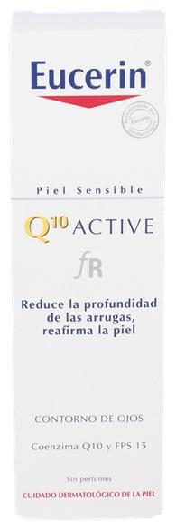Eucerin Q10 Active Contorno De Ojos Cutis Sensib - Beiersdorf