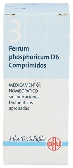 Ferrum Phosphoricum Nº3 D6 80 Comprimidos Dhu