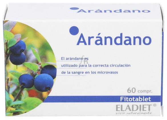 Fitotablet Arandano (Mirtilo) 60 Comp - Eladiet