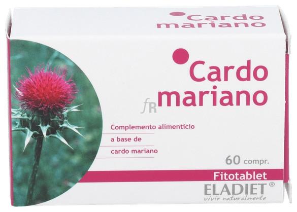 Fitotablet Cardo Mariano 60 Comp. - Eladiet