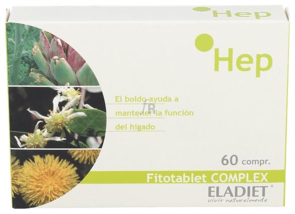 Fitotablet Complex Hep (Hepabest) 60 Comp - Eladiet