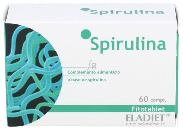 Fitotablet Spirulina 60 Comp. - Eladiet