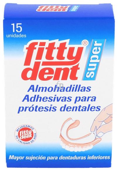 Fittydent Almohadillas Super Adhesivas