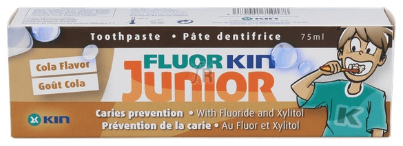 Fluor-Kin Junior Cola Pasta Dentifrica - Kin