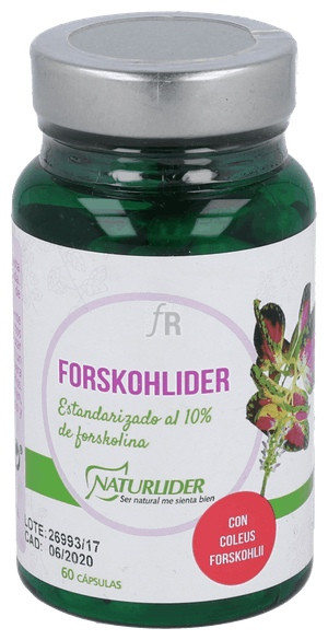 Forskohlider (Coleus Forskohlii) 60 Cap.  - Naturlider