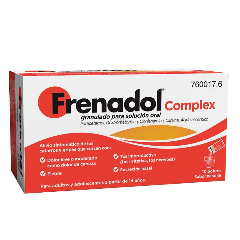 Frenadol Complex (10 Sobres)