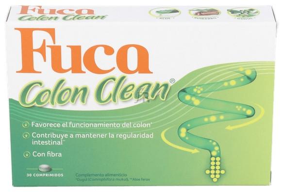 Fuca Colon Clean 30 Comp - Aquilea-Uriach