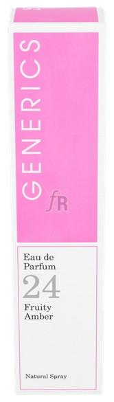 Generics Eau De Parfum N- 24 100 Ml - Varios