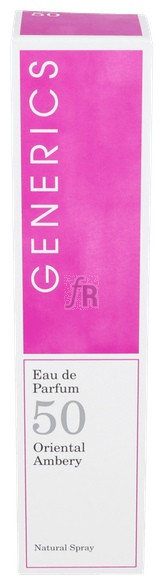 Generics Eau De Parfum N- 50 100 Ml - Varios