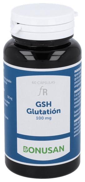 Gsh Glutation 100Mg. 60V Cap.  - Bonusan