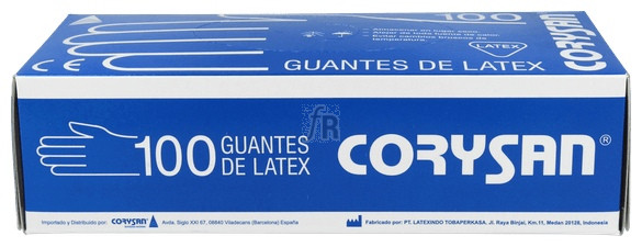 Guantes Corysan Latex T-P