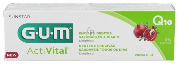 Gum Activital Q10 Pasta 75 Ml - Farmacia Ribera