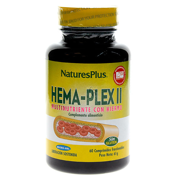 Hema Plex II 60 Tabletas Nature'S Plus