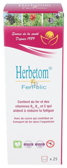 Herbetom 3 Ff Hierro 250 Ml. - Bioserum