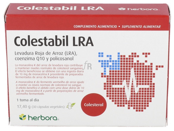 Colestabil (Arroz Rojo) 30 Cap.  - Herbora