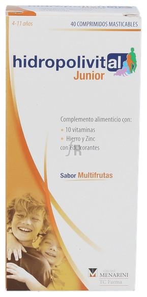 Hidropolivital Junior Comp Masticable 40 Comp - Hidropolivital