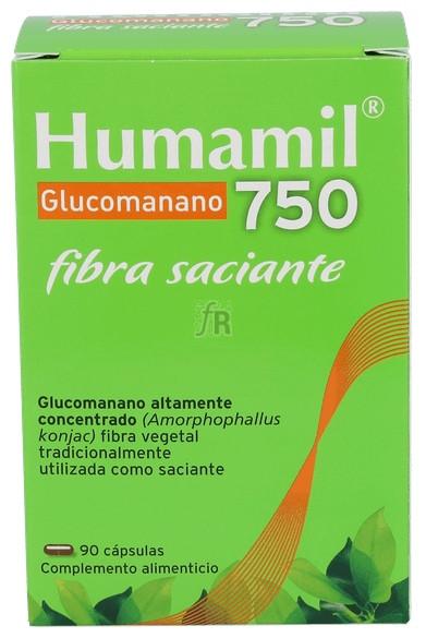 Humamil 750 mg. 100 Cápsulas