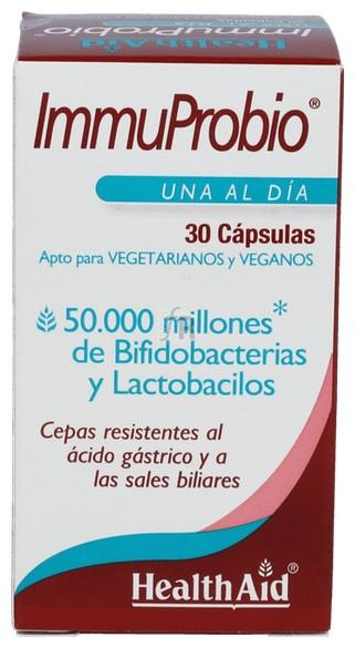 Immunoprobio 30 Capsulas Health Aid