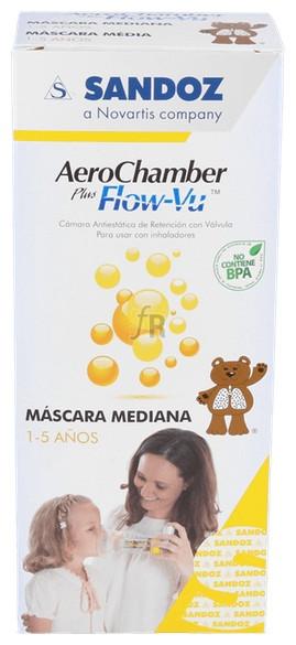 Inhalador Aerochamber Infantil - Palex Medical
