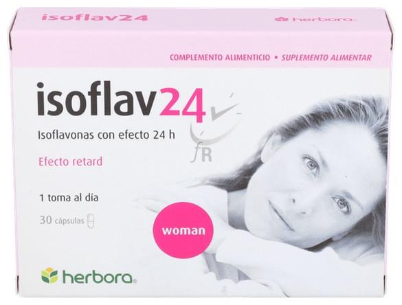 Isoflav 24 30 Capsulas Herbora - Varios