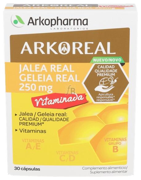 Jalea Real Vitaminada  30Caps - Arkopharma