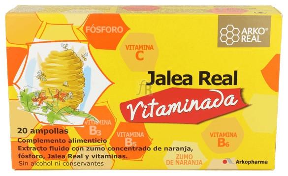 Jalea Real Vitaminada 20 Ampollas