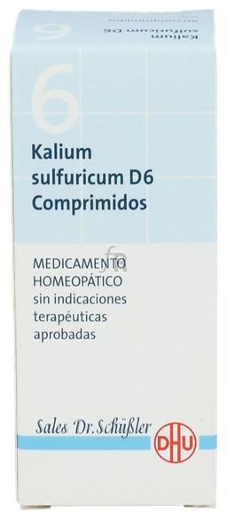 Kalium Sulfuricum Nº6 D6 80 Comp