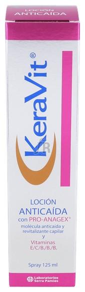 Keravit Locion Anticaida Spray 125 - Varios