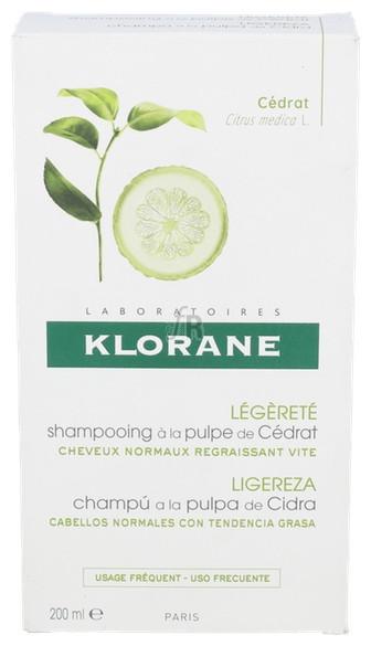 Klorane Champu Energizante A La Pulpa De Cidra 2 - Pierre-Fabre