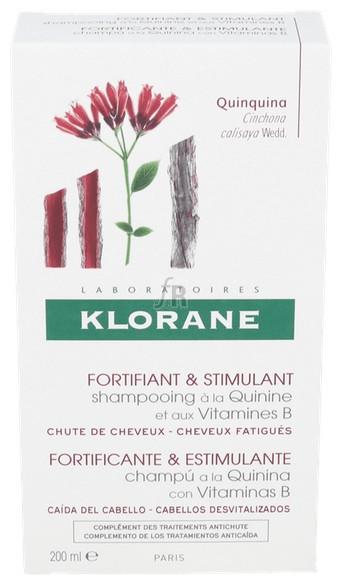 Klorane Champu Quinina Fortificante 200 Ml - Pierre-Fabre
