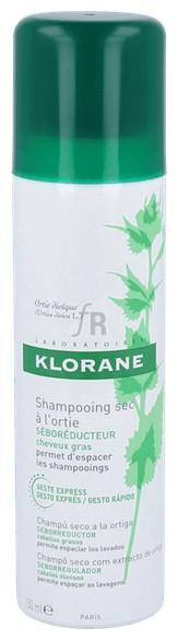 Klorane Champu Seco Extracto Ortiga 150 Ml.