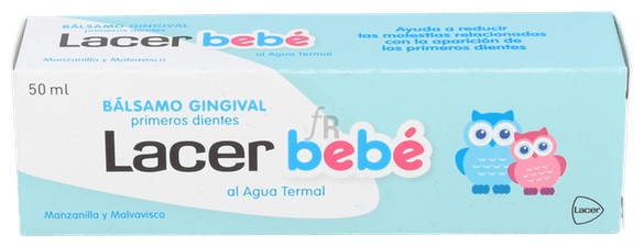 Lacer Bebe Balsamo P Dientes50 - Lacer