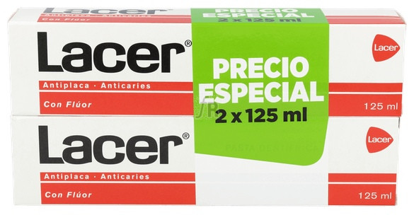 Lacer Pasta Dental 125 G Duplo - Varios
