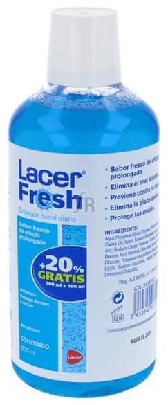 Lacerfresh Colutorio 500Ml. - Lacer