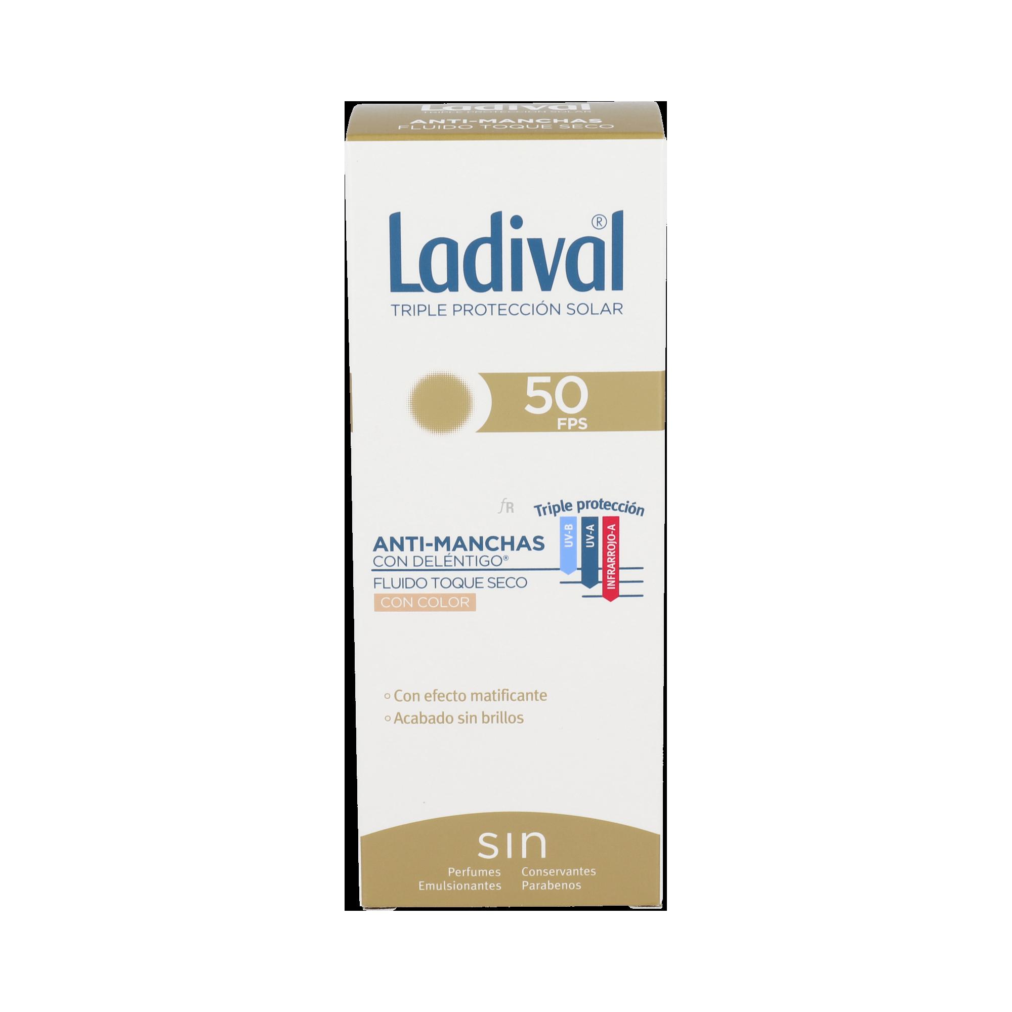 Ladival Antiman Toque Seco Cl Fp50+ 50 Ml