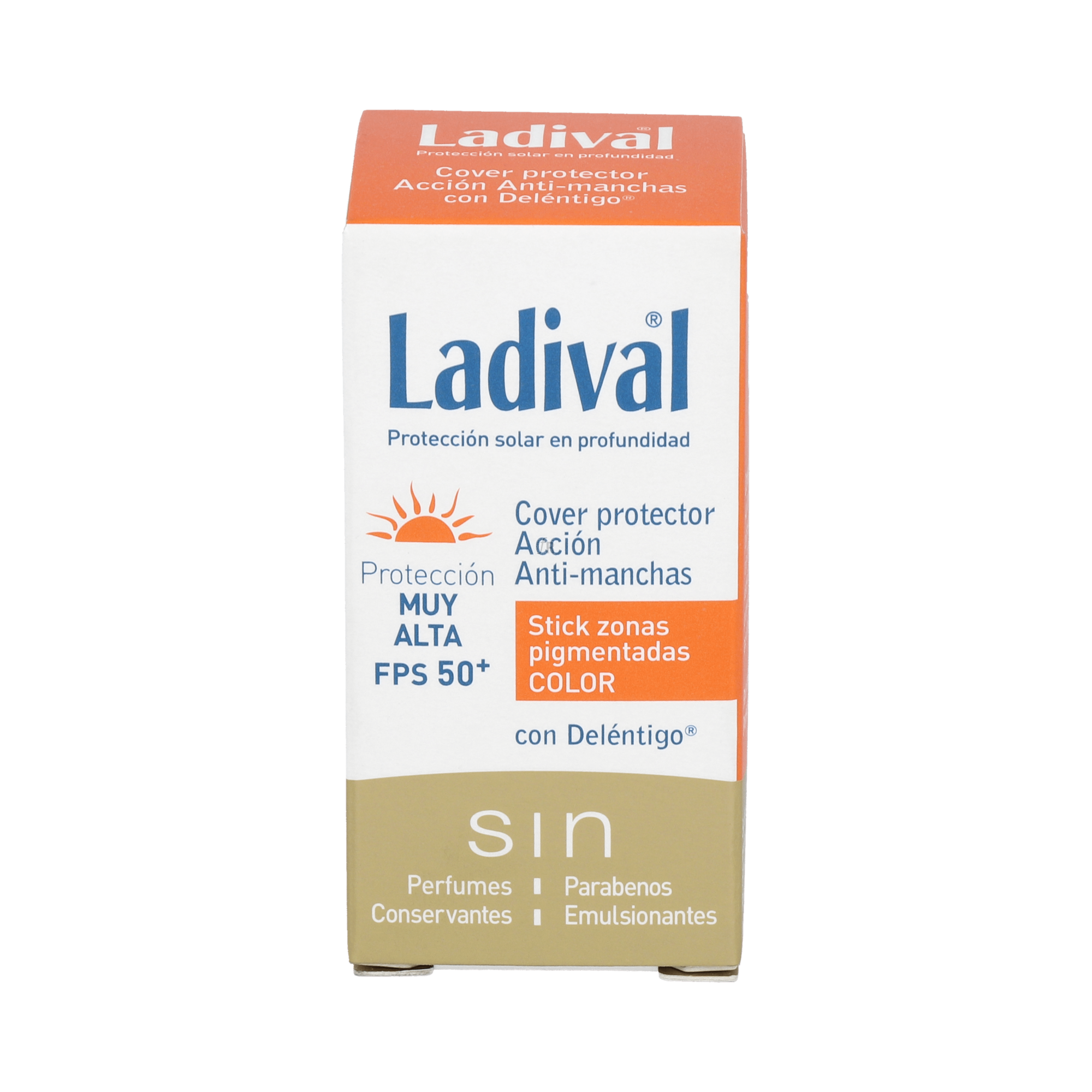 Ladival Antimanchas Cover Protec + Delentigo Fps 50 + Stick 4Ml