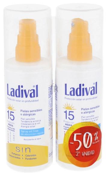 Ladival Pack Duplo P. Sensibles Spf15 150Ml