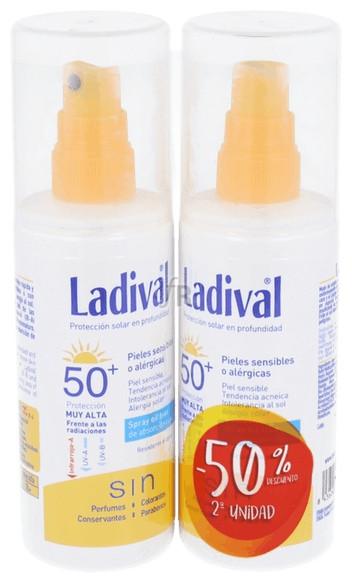 Ladival Pack Duplo Spray Spf50 + 300 Ml.