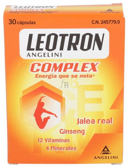 Leotron Complex 30 Cápsula