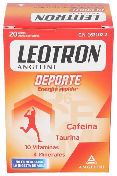Leotron Deporte 20 sobres Bucodispersables