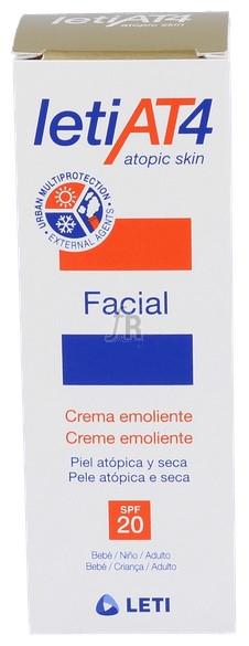 Leti At-4 Crema Facial Spf 20 50 Ml - Leti