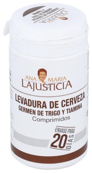 Levadura Cerveza+Germen Trigo+Tiamina (B1) 80 Comp. - Varios