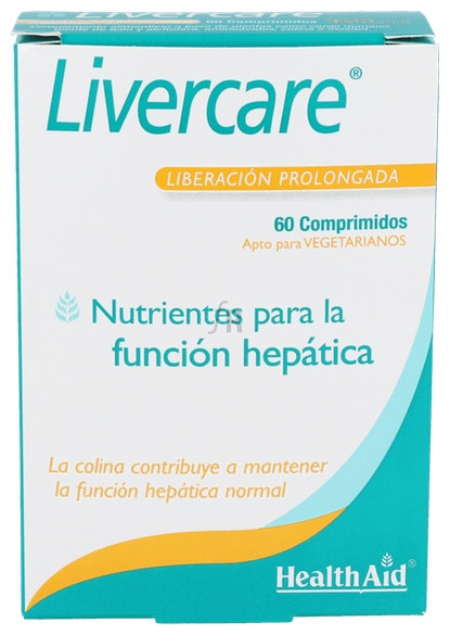 Livercare 60 Comprimidos