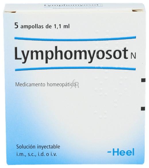 Lymphomyosot N 5 ampollas 1,1 ml.