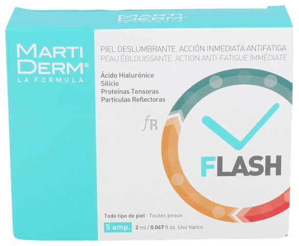 Martiderm Flash Ampollas 5 Amp - Farmacia Ribera