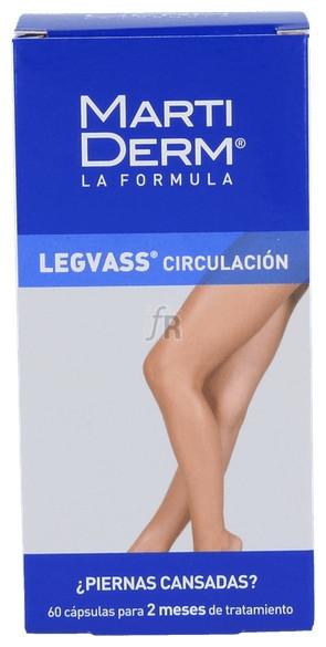 Martiderm Legvass Oral 60 cápsulas - Farmacia Ribera