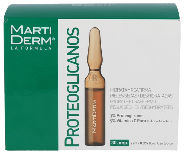Martiderm Proteoglicanos 30 Ampollas- Farmacia Ribera